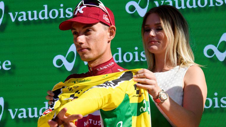Spilak zette gisteren voor de tweede keer de Ronde van Zwitserland op zijn palmares.