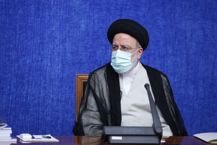 De nieuwe president van Iran, Ebrahim Raisi. Beeld AFP
