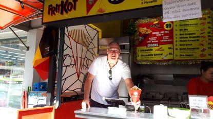 """Deze Belg opende een authentieke frituur in Pattaya: """"De witte kassa was voor mij de druppel"""""""
