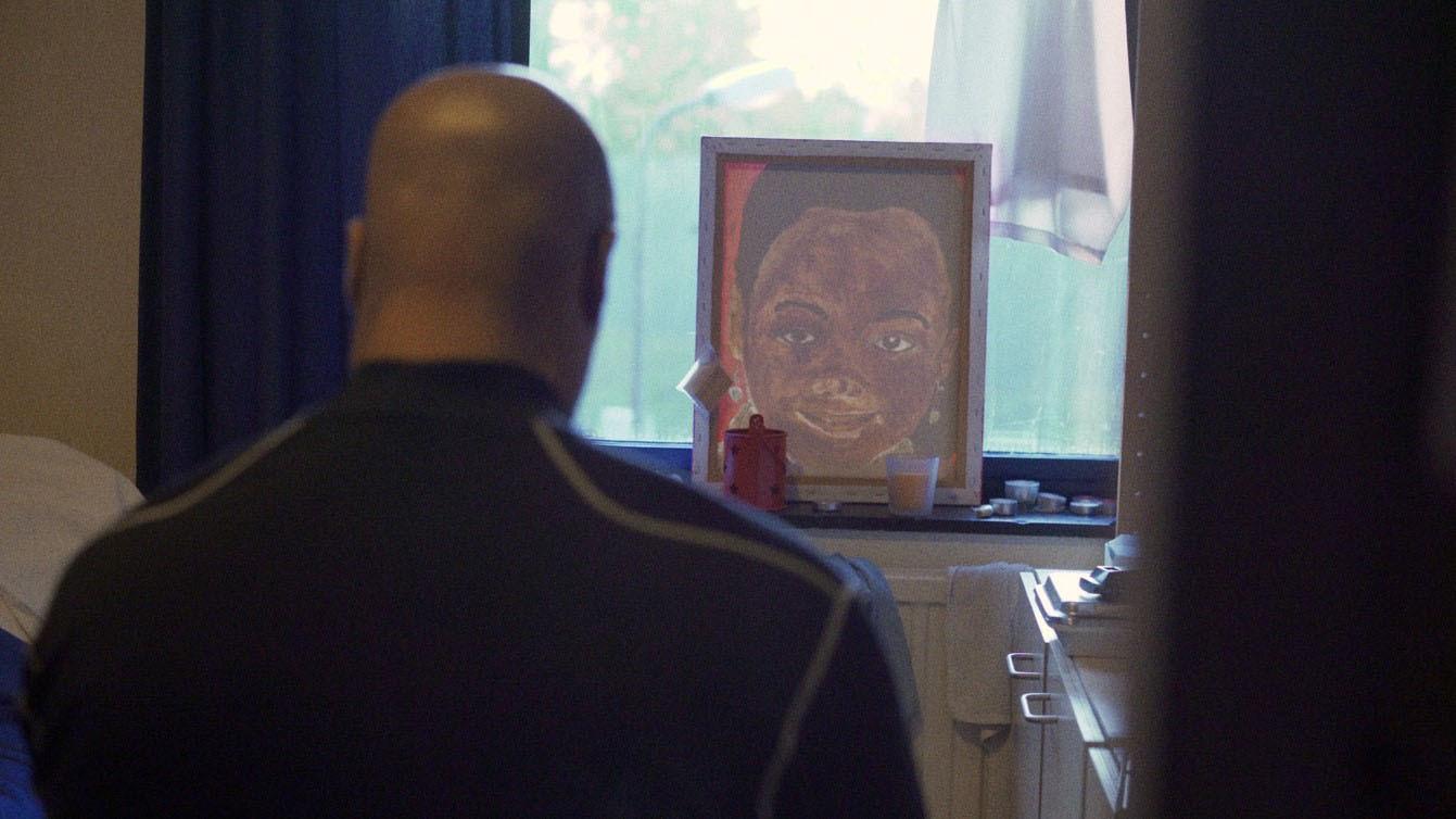 Beeld uit de documentaire Rusteloze Zielen, gemaakt in de Van der Hoeven Kliniek in Utrecht.