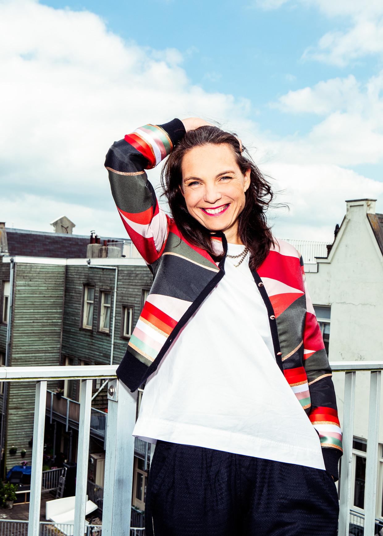 Grachtenfestivaldirecteur Marie-Luce Bree Beeld Hilde Harshagen