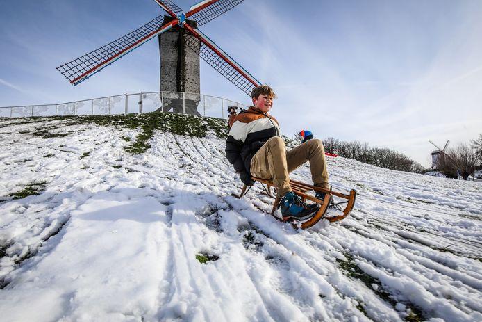sneeuwpret Brugge