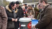 Warme glühwein op winterse wandeling Natuurpunt Scheldeland