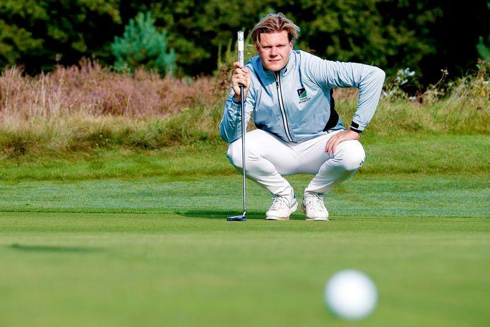"""Bob van der Voort: """"Kortgeleden ben ik weer licht teruggezakt: -3,7. Zo kan het gaan met mijn focus en het golf."""""""