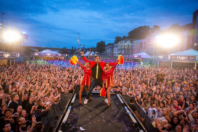 De Snollebollekes op de Vierdaagsefeesten in 2019.