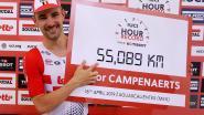 Meer dan 55 kilometer in één uur! Campenaerts volgt Wiggins op als uurrecordhouder