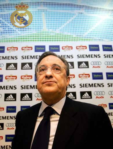 Florentino Perez, le président souhaité pour le Real Madrid.