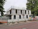 Direct naast het squashcentrum wordt nu al gebouwd.