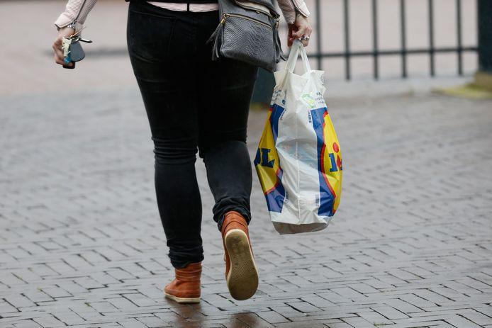 Supermarkt Lidl heeft de goedkoopste huismerkproducten.