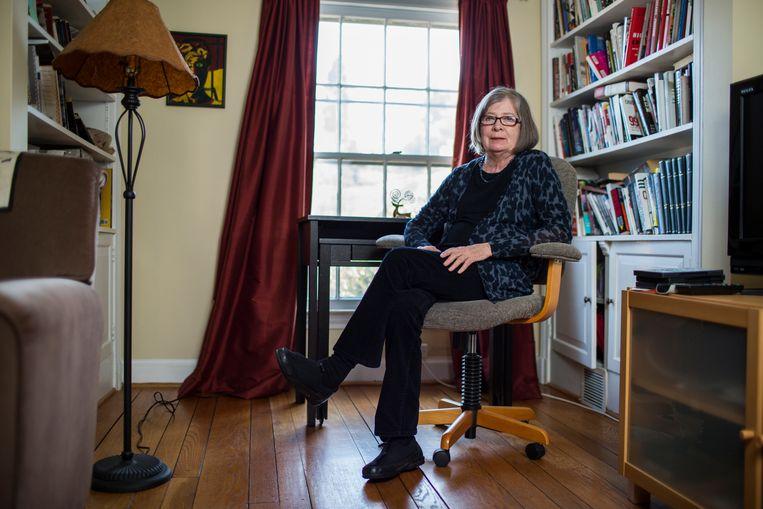 Barbara Ehrenreich in haar huis in Alexandria, Virginia, 24 maart 2014. Beeld Hollandse Hoogte / Redux Pictures / Joshua Roberts