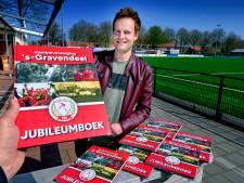 Nog geen grootse activiteiten, maar wel jubileumboeken bij 100-jarige voetbalclubs 's-Gravendeel en Strijen