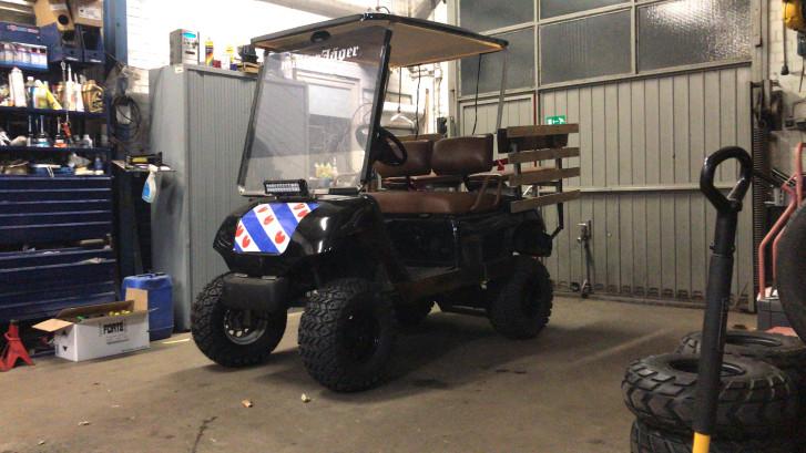Beloning voor terugvinden 'Friese' golfkar die is gejat bij Zwarte Cross