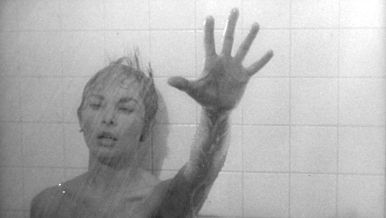 Janet Leigh in Alfred Hitchcocks Psycho. Beeld