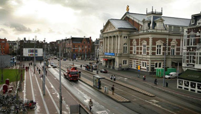 Kliniek Oud Zuid op het Concertgebouwplein in Amsterdam zou gevaarlijke borstimplantaten hebben gebruikt van het Franse Merk Poly Implant Protheses (PIP). Foto Floris Lok Beeld