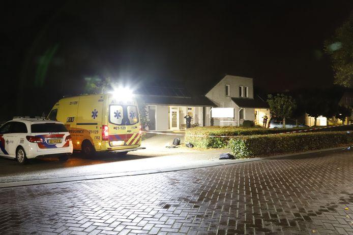 Aan de Stevensbeekseweg in Overloon is een woningoverval gepleegd.