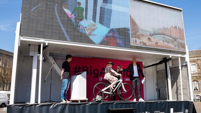 Op de 'Big Art Ride' fiets je virtueel door Europa