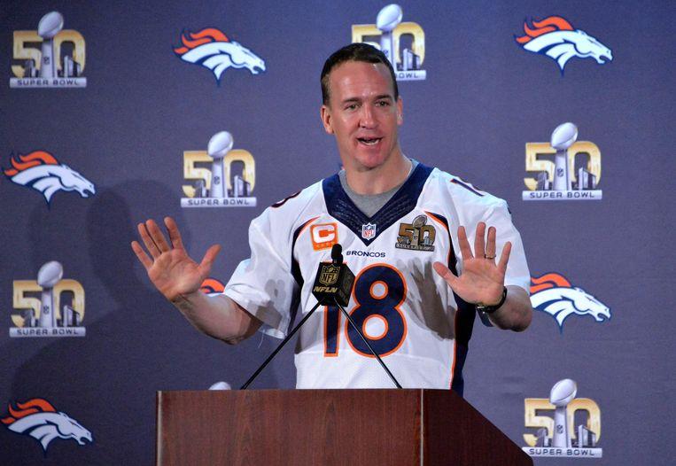 'All-American Boy' Peyton Manning. Beeld afp