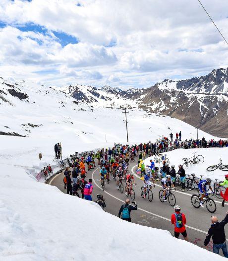 Giro maakt zich op voor slecht weer: 'In de afdaling is het opletten'