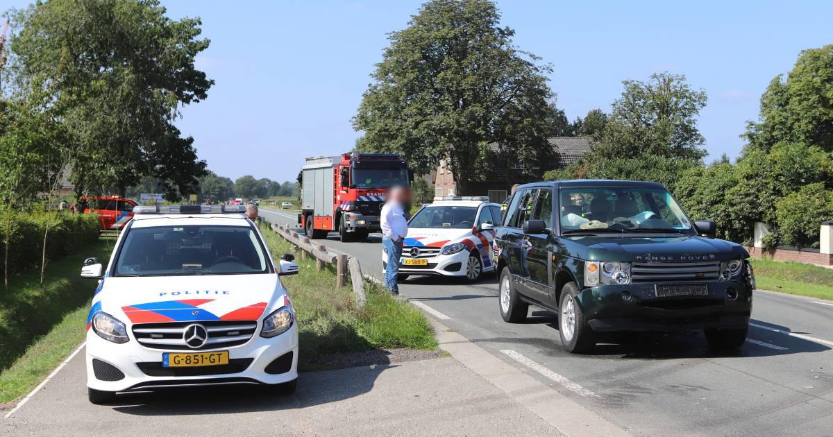 N304 bij Otterlo afgesloten voor verkeer door ongeval.