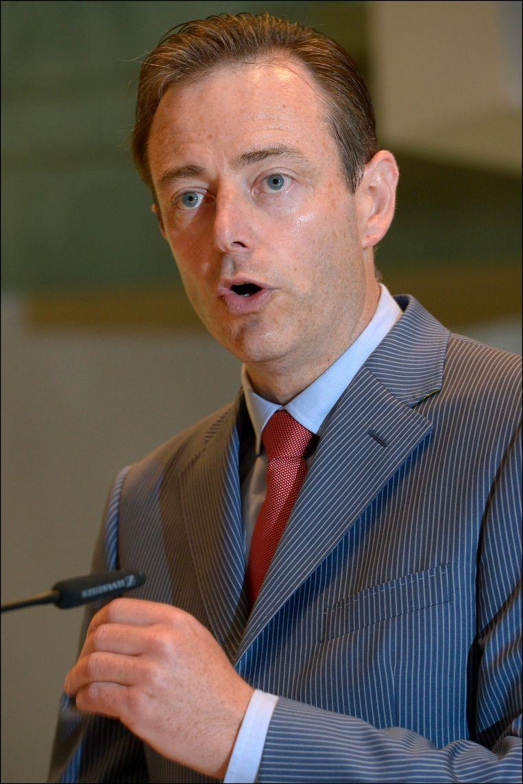N-VA-voorzitter Bart De Wever. Beeld PHOTO_NEWS
