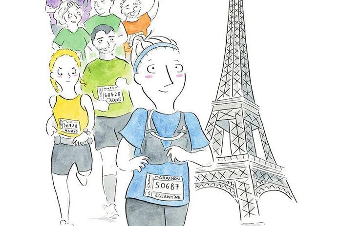 """""""Alors on court - Chroniques d'un premier marathon"""" parlera autant aux sportifs qu'aux autres."""