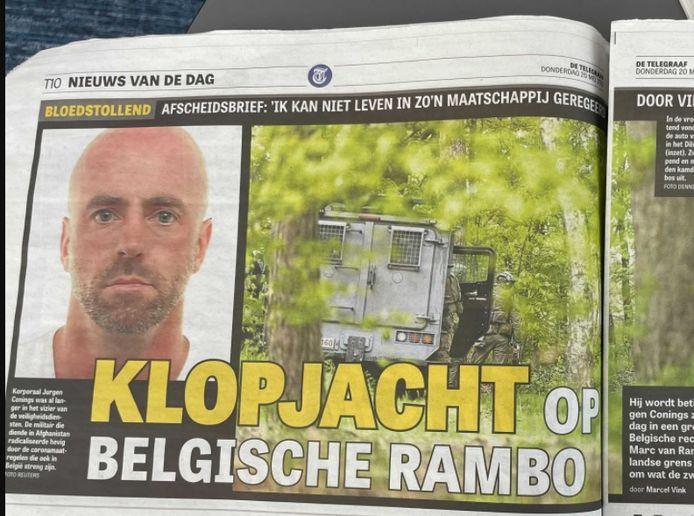 Het artikel in De Telegraaf vandaag.