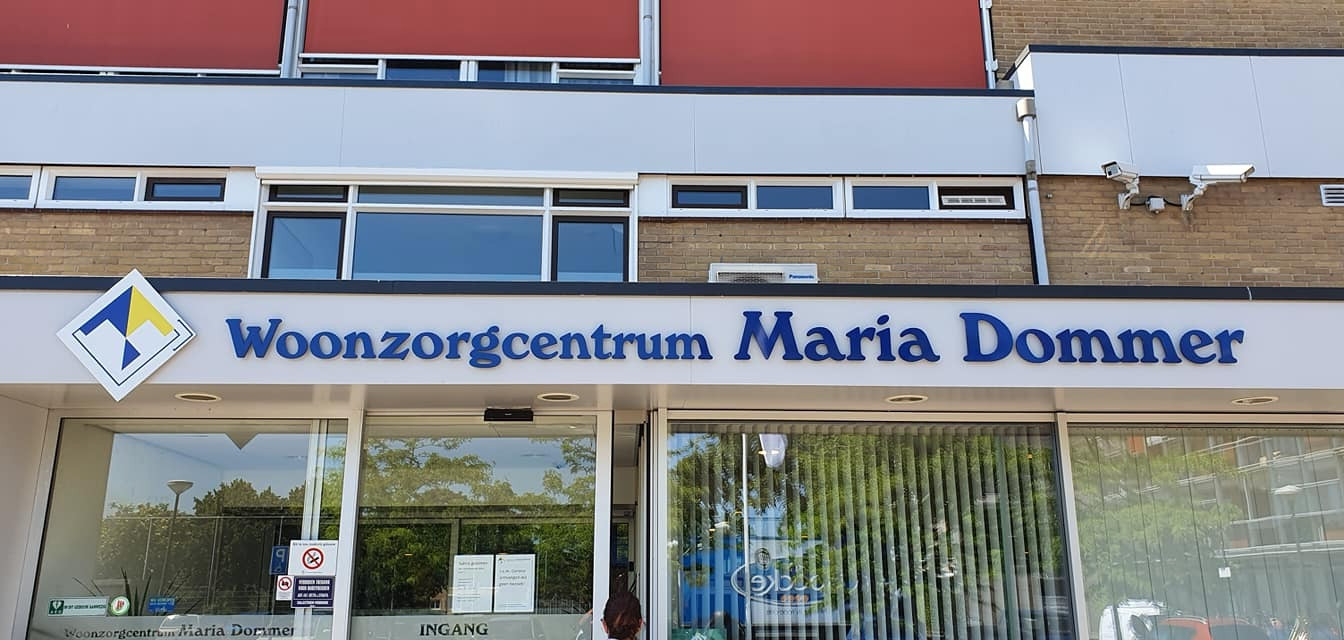 In woonzorgcentrum Maria Dommer in Maarssen zijn vijftig bewoners en veertig medewerkers besmet geraakt met het coronavirus.