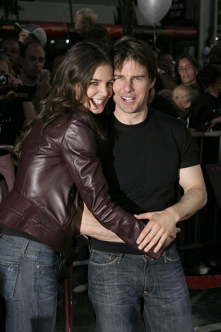 Tom Cruise en Katie Holmes.