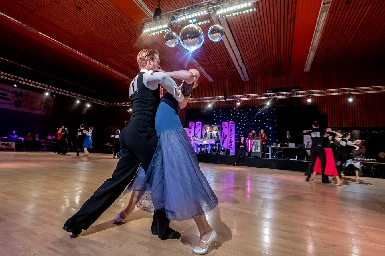 Begin deze maand was er een wedstrijd stijldansen in 't Cromwiel in Steenbergen.