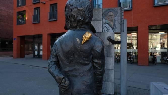 Beethoven krijgt nieuwe roos, nadat vandaal het monument beschadigde