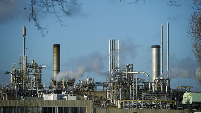 De Dupont-fabriek in Dordrecht