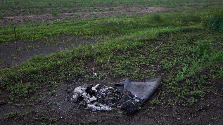 De rampplek van vlucht MH17. Beeld anp