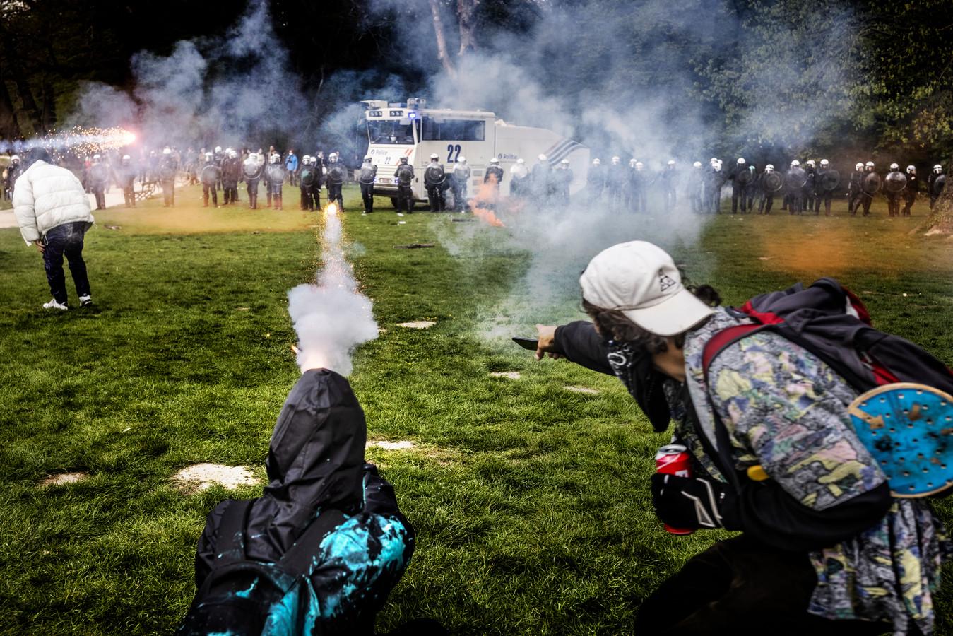 Émeutes au bois de la Cambre (1er mai)