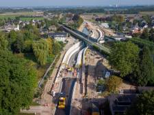 Nieuwe spoortunnel tussen Elst en Arnhem is bijna klaar