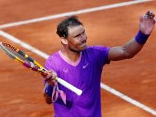 Nadal sauve deux balles de match face à Shapovalov et se qualifie pour les quarts à Rome