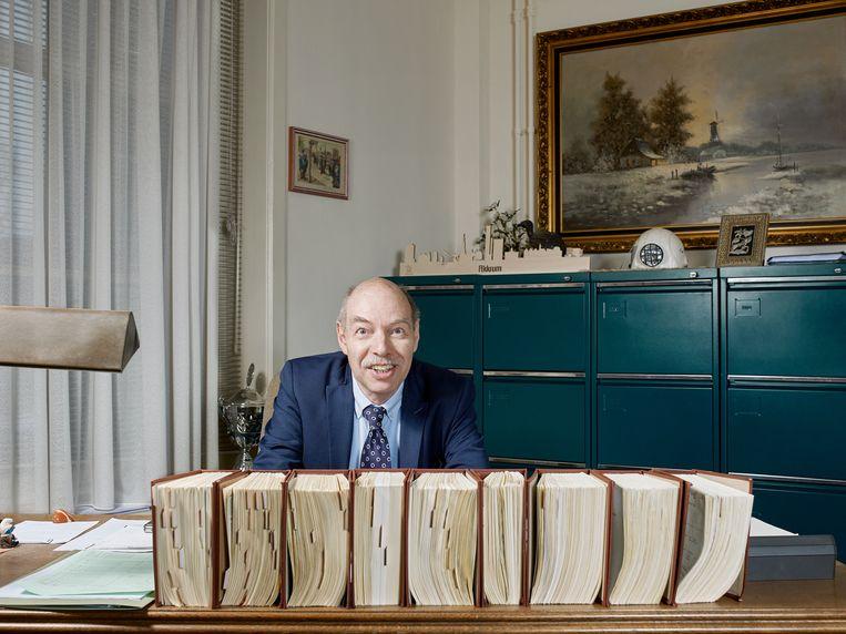 Hans Anker in zijn kantoor.   Beeld Jouk Oosterhof