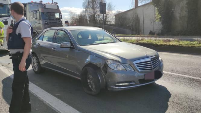 Expresweg in Waregem uur lang afgesloten na ongeval