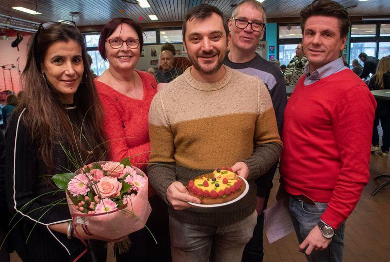 Tarte Matinee in Merelbeke : winnaar taartbak wedstrijd Thomas Van Peteghem uit Lochristi