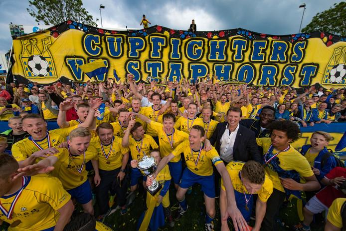 Staphorst kan op woensdagmiddag uitkijken naar het bekerduel tegen PEC Zwolle.