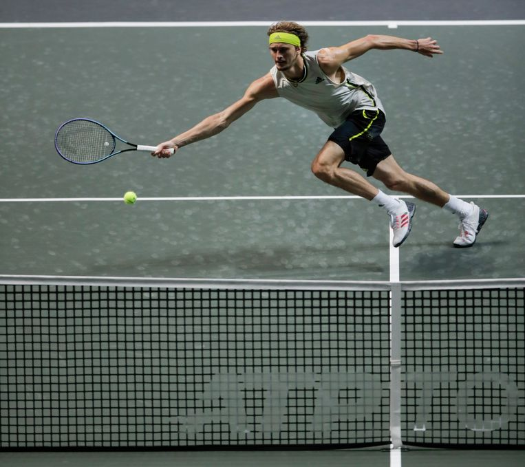 German tennis player Alexander Zverev.  Image AP