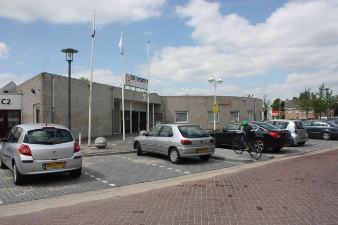 Sporthal De Werft in Kaatsheuvel.