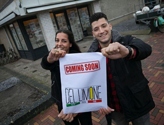 Simone Allard en Dylan Ploegmakers openen binnenkort Del Limone.