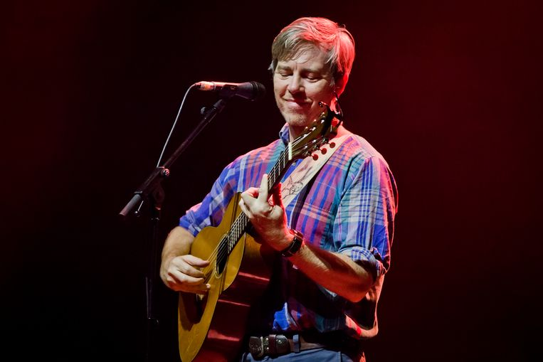 Bill Callahan tijdens een concert in Berlijn, eerder deze week. Beeld Redferns