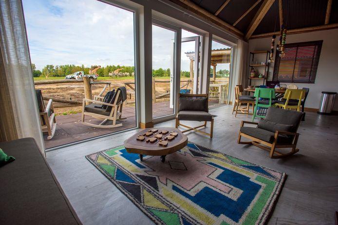 Het nieuwe Safari Resort in de Beekse Bergen heeft het aantal bezoekers doen toenemen.