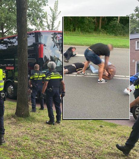 Getuigen knokpartij tussen hooligans van PEC Zwolle en GA Eagles melden zich niet bij politie, onderzoek gaat wel door