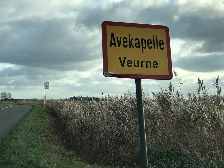 De proefopstelling stond op de N35 aan de toegangsweg tot Avekapelle