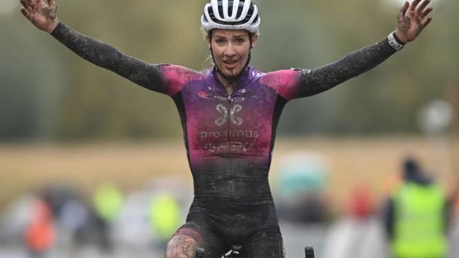 """Alicia Franck wint midweekcross in Ardooie: """"Vroeg me voor de start nochtans af waaraan ik was begonnen"""""""