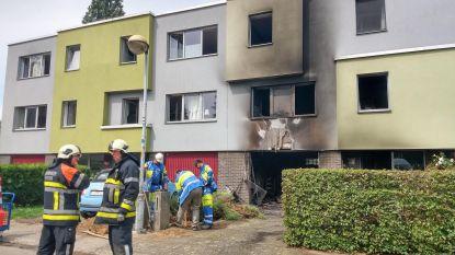 Huis onbewoonbaar na brand in garage