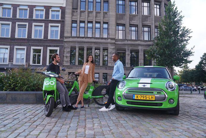 GO Sharing komt met deelfietsen en wil deelauto's in Den Bosch