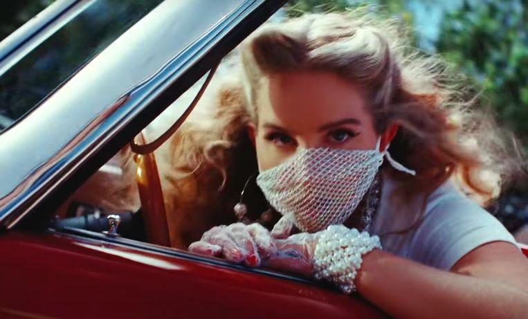 Lana Del Rey Beeld Humo